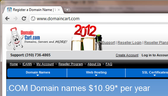 What is a domainname
